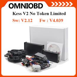 Wholesale Master Diagnostic - New Arrival KESS V2.12 Firmware V4.036 Manager Tuning Kit Master Version No Token Limited KESS V2 OBD2 Manager Tunning Kit