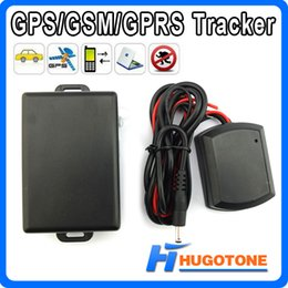 Wholesale Gps Tracker Geo Fencing - Fast Shipping Real Time TK800 Quad Band Car GPS Tracker Waterproof Geo-fence SOS Strong Magnetic Over Speed Alarm GPS Tracking System