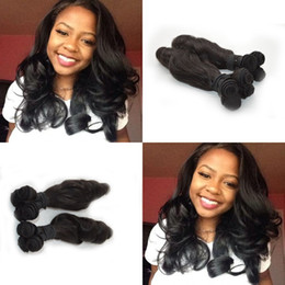 Wholesale Hair Curl Textures - New Arrival New Texture Hair Extensions indian Virgin Human Hair Funmi Sprial Curl Aunty Funmi Virgin Natural Color Hair Weft G-EASY