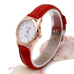 Wholesale Custom Digital Watch - Wholesale Cute Digital Wrist Watch for Student Girls Wrist Watch with Diamond Custom Leather Watch for Gift