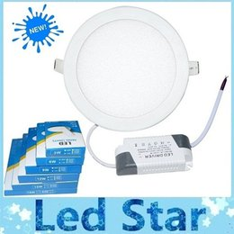 Wholesale Drivers 3w - DHL Free Shiping 3W 6W 9W 12W 15W 18W Recessed Led Downlights For Kitchen Bathroom Lighting Warm Pure White AC 85-265V + Power Drivers
