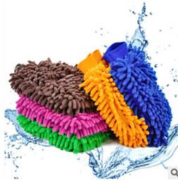 Wholesale Wholesale Chenille Microfiber Mitt - Fashin new hot sale Microfiber Snow Neil fiber high density car wash mitt car wash gloves towel