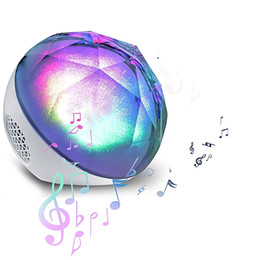 Wholesale Magic Ball Bluetooth - Magic Crystal Ball Portable Wireless Bluetooth Speaker Stereo Subwoofer with remote control Support TF Card