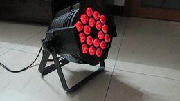 Wholesale Dj Par Can - LED Multi par can par 64 Indoor led wash light 18X15W RGBAW 5-in-1 DJ party stage lighting