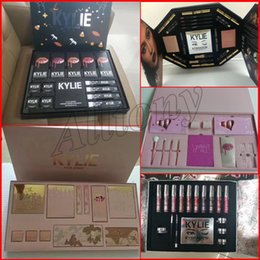 Wholesale Boxes Set - kylie Send me more nudes Kylie Vacation Makeup Set Edition Collection i want it all kylie jenner holiday christmas big box