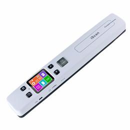 Wholesale Handheld Portable Document Scanner - Wholesale- Handheld Portable Scanner A4 Size Document Scanner 1050DPI JPG PDF Support 32G TF Card Zero Margin High Speed Mini Scanner