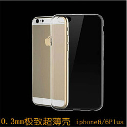 Wholesale Iphone 5s Mm - 0.3 mm Slim Ultrathin Phone Case for iphone 6 6plus 5S 4S Samsung Galaxy S3 S4 S5 S6 Frosted Soft Cases