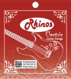 Wholesale Nickel Wound - Rhinos RE669L Superior Quality Electric Guitar String Nickel Wound Light Tension .010-.046