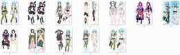 Wholesale Waterproof Throw - Wholesale- Pillow Case sword art online (SAO) anime Characters sinon & sakuya & konno yuuki throw pillow cover gun gale online GGO body Pi