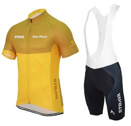 Strava maglia da ciclismo maglia sportiva MTB bici da corsa abbigliamento da ciclismo traspirante tuta sportiva da bicicletta nuovo stile estivo giallo da