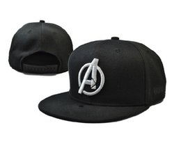 Wholesale Superman Cap Men - New Marvel Comics hero America Captain Iron Man Superman bone snapback the avenger adjustable hat casquette for women men
