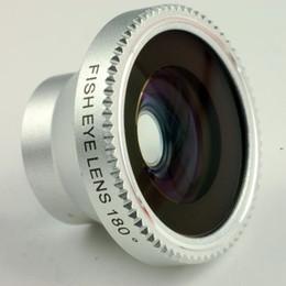 объектив 3 м Скидка Wholesale-Free shipping 1pcs/lot 180 degree Fisheye Lens for  4 & for  5 & mobile phone 3m adheseive