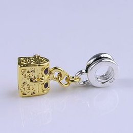 Wholesale Wholesale Women Minimum Order - Wholesale-Minimum order $10 free shipping Women Jewelry 925 Silver Bead Charm Silver Box Pendant Bead Fit bracelets & bangles H533