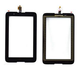 Lenovo a7 touch en Ligne-Numériseur d'écran tactile en gros pour Lenovo IdeaTab A7-30 A3300 Vitre de panneau à écran tactile de haute qualité pour Lenovo A7-30 Noir En stock