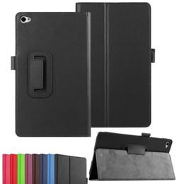huawei mediapad m2 Sconti Custodia in pelle PU protettiva Smart Folio da 1pz per Huawei MediaPad M2 8.0 Tablet PC M2-801 M2-802 Custodia