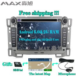 Wholesale Car Dvd Cruze - Android 6.0 Car DVD Player for Chevrolet sail 2004 2005 2006 2007 2008 2009 2010 2011 2012 with BT GPS map 4G