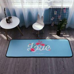 Wholesale machine live - Large stylish living room floor mats 50 * 150 cm thick bedroom doormat kitchen bathroom bathroom non-slip mats family doormat