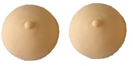 Wholesale Fake Skin Makeup - 3D Pleural Areola Practice Mould Rubber Practice Chest Practicing Permanent Makeup Cosmetic Fake Breast Tattoo Practice Skin
