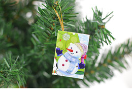 2019 desejos de aniversário bonitos 2017 hot cartões de natal impresso ornamentos natal desejando cartão doce desejo adorável para o aniversário caçoa o presente com pacote de varejo desejos de aniversário bonitos barato