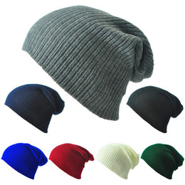 Wholesale Easy Golf - Travel Casual Hat Washable Stripe Wool Knitted Beanie Easy To Carry Skull Caps For Men And Women 4 8bd B
