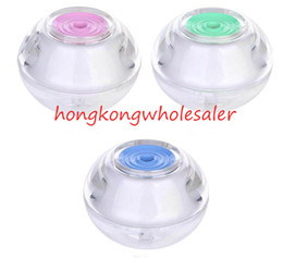 Wholesale Wholesale Office Beauty - Hot Style Air Humidifier Beauty Backlight Crystal USB Ultrasonic Humidifiers Fogger Aroma Mist Maker Aromatherapy Essential for Home Office