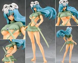 Wholesale Japanese Cartoon Art - Free shipping 21cm Japanese Anime Cartoon Bleach Nelliel Tu Odelschw 1 8 Scale Art Figure For Christmas Gifts