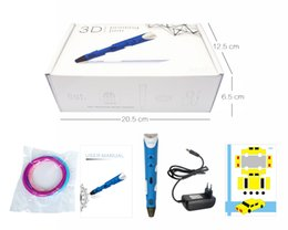 Wholesale 3d Pen Print - Puzzle toy,3D printing pen,Adjustable speed,Four color options,Give your child a three-dimensional future