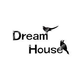 Wholesale Framing House Design - 3D Dream House Photo Frame Wall Sticker DIY Birds Removable Living Room Background Wall Decals Home Decoration Mural Poster