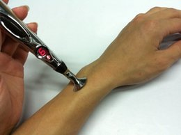 Ce plumas online-Venta caliente Envío gratis ACU Pen pluma electrónica de la acupuntura Acupuntura láser pluma de masaje electrónico sin batería
