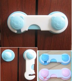 Wholesale Drawer Gate - FG1509 cabinet door safety locks baby care products Child security lock for folio cupboard closet drawer cabinet with 9.5cm