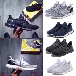 Wholesale Outdoor Deals - Black Friday Deals Ultra Boost 3.0 Triple Black White Olive Primeknit Oreo CNY Blue Uncaged Men Women Running Shoes Outdoor Sports Sneakers