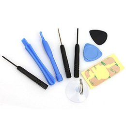 Wholesale Open Pry Tool - 9 in 1 Repair Opening Pry Tools Kit Set for iPhone 4 4s 5 5s 6 Plus free DHL