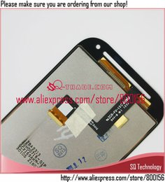 Wholesale One Sv - Wholesale-For HTC One SV C525e LCD Display with Touch Screen Digitizer Assembly Black Colour free shipping