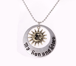 Wholesale Gift Songs - A Song of Ice and Fire jewelry Ball chain necklace My Sun and Stars Pendant Necklace Wholesale Free Shipping
