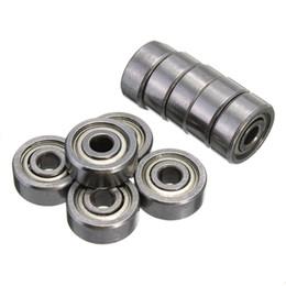 Wholesale Chrome Steel Ball Bearings - 10Pcs High Quality 623ZZ 3x10x4mm Miniature Radial Bearings Deep Groove Ball Bearing Shielded Silver Chrome Steel order<$18no track