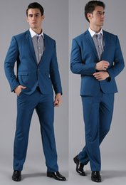 Wholesale Cheap Light Ropes - New 2018 Custom Made Beige Wedding Tuxedos Cheap Real Image Three Piece Formal Groom Men Suits ( jacket+Pants+tie)