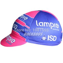 Wholesale Merida Team - Wholesale-Le Tour De France 2015 Cycling CAP Lampre Merida Team clothing Hood Bike Sun Sweat Hat Racing Sportsweart Headgear cool Bicycle