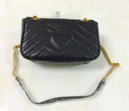 Wholesale Famous Message - Hot Marmont shoulder bags women luxury chain crossbody bag handbags famous designer purse high quality female message bag