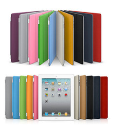 Wholesale Apple Ipad Magnetic Cover - Free DHL Sleep Wake UP Smart Magnetic Cover Case for Apple ipad mini iPad2 iPad 2 new iPad3 iPad 3 iPad4 iPad 4 iPad Air 2 9.7'' PC Stander