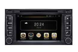Wholesale Volkswagen Tv - Android 7.1 Car DVD Player GPS Navigation for VW Volkswagen Touareg 2002-2010 with Radio BT TV USB SD Auto Audio Stereo WIFI
