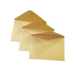 Argentina Al por mayor-100PCS / lot Vintage sobre de papel de Kraft 16 * 11cm DIY sobres de tarjetas de regalo multifunción para boda fiesta de cumpleaños cheap vintage paper envelopes Suministro
