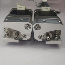 Wholesale Metal Stepper Motor - Replicator 2X 3D printer parts Reprap Makerbot Replicator 2X metal dual Extruder Upgrade kit (no stepper motor)1.75 mm