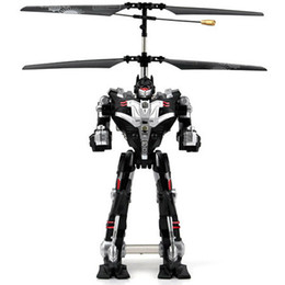 Wholesale Top Helicopter - Wholesale-Top Quality Model Induction RC Helicopter Remote Control Helicopter Quadcopter Quadrocopter Transformation Robert Boys Gift B02