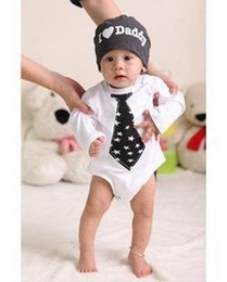 Wholesale Doomagic Clothing - Free shipping by Fedex IP doomagic baby boy's clothes  baby Cotton tie models Triangle long-sleeved Romper 1009#09