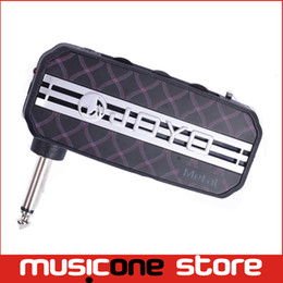 Wholesale amp output - JOYO JA-03 Metal Mini Guitar Amplifier Pocket Amp w  Headphone Output and MP3 input Mu0058