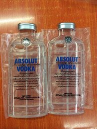 Wholesale Beer Bottle Iphone Case - ABSOLUT VODKA 3D Wine Beer Bottle Drink Soft Clear TPU case Transparent For iphone 6 Plus 4.7 5.5 inch 5 5G 5S 5TH skin cover fashion 300pcs