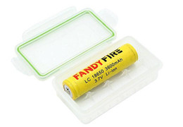 Wholesale Translucent Plastic Box - Wholesale 18650 Box Mod Battery Waterproof Case Plastic Battery Case Protective Storage Case Translucent Battery Holder Storage Box