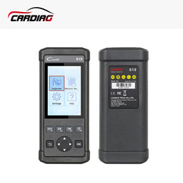 Wholesale cars diagnostic launch codes - 2017 Launch Creader 619 Code Reader Full OBD2 EOBD Functions Data Record and replay Diagnostic Scanner for car elm327 as Gift