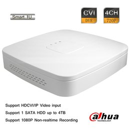 Wholesale Dahua Dvr 4ch - Dahua 4CH Tribrid 720P-Pro Realtime H.264 HD CVI Smart 1U HD-CVI IP Hybrid DVR