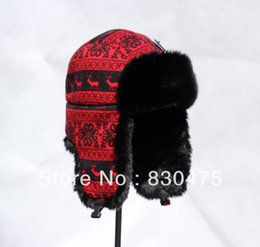 Wholesale Ear Protector Cold - Wholesale-Exporting oriented bomber cap winter cap warm ear protector hat cold-proof skiing hats